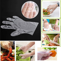 In Stock PE Plastic Disposable Gloves Food Grade Household C...