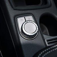 중앙 멀티미디어 버튼 장식 조각 장식 커버 트림 자동차 스타일링을 위해 메르세데스 벤츠 W204 W212 X204 X156 C117 W176 W246 ML GL