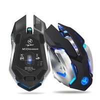 HOT Wireless Ergonomic Mouse Mouse ottico silenzioso ricaricabile da 2,4 GHz 7 LED retroilluminato per giochi PC
