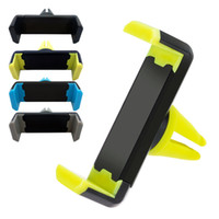 Tenedor de teléfono celular soportes de ventilación de aire para iPhone 11 12 Pro XR XR XS MAX 8 PLUS SAMSUNG GALAXY S20 EF S10