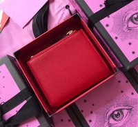New Women' s Walletes Luxury Famous Red Money Pocket Imp...