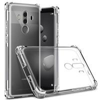 Darbeye Huawei p30 P20 Mate için Şeffaf Kılıf Karşıtı vurmak 20 10 Pro Lite Nova 3 P Akıllı Artı 2019 E5 oyna LG G7 Bir Artı 6 redmi not 5
