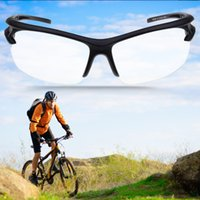 New Sport Outdoor Riding Cycling Uv400 Protection Occhiali da sole Dropshipping trasparente