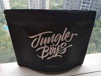 Grandes Jungle Boys Smell Bolsas prueba se levanta la bolsa de media libra paquete Sólo Embalaje Mylar cremallera Pack para Flores de la hierba seca