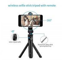 Portable Mini Selfie Stick 360 Degree Rotation with Built- in...