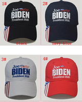 Джо Байден бейсболка для президента 2020 США выборы лето солнце шляпа открытый унисекс бейсболка письмо Вышивка шляпы FFA4072-1