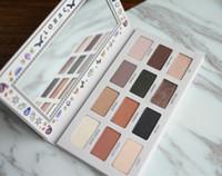Новое поступление LORAC California Dreaming Eyeshadow Palette 12 цвет контур румяна тени для век Матовый Лорак Макияж Палитра Бесплатная доставка.