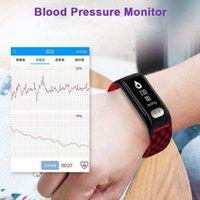 H777Plus armbands Smart Armband Band 0.96inch OLED IP67 wasserdichte Herzfrequenz-Monitor EKG (EKG) Atem-Trainingsuhr