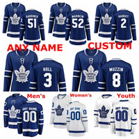 Toronto Maple Leafs Formalar Jake Gardiner Jersey Ron Hainsey Justin Holl Martin Marincin Jake Muzzin buz Hokeyi Formalar Özel Dikişli