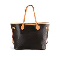 Großhandel Einkaufstasche für Frauen Oxidationsleder Art und Weise Schulter Tote für Frauenhand presbyopic Einkaufstasche Geldbeutel Umhängetasche
