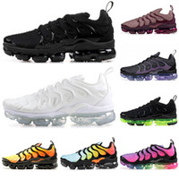 Nike Air Vapormax Tn Plus tns Cushion Running Schuhe Herren Damen Triple schwarz pink Smokey Mauve Olympic Anthracite Laser Fuchsia Designer Sneakers