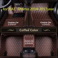 for FIAT Ottimo 2014-2017year non-slip non-toxic foot pad car foot pad