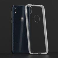 Motorola G2 G3 G4 G5 E4 G5s C Artı Z2 Çal X4 2017 Şeffaf Koruma Darbeye 2MM Kalınlığı TPU Zırh Telefon Kılıf Kapak
