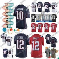 5adbcde44 Wholesale tom brady jersey for sale - Cheap sales New Patriot Tom Brady  Jersey Julian Edelman