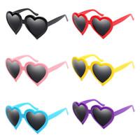 Mode Frauen Persönlichkeit Herzform Sonnenbrille Übergroße Rahmen Sonnenbrille Anti-UV-Brillen Brillen Goggle adumbral A ++