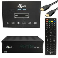 Axas His Twin DVB- S2 S HD Enigma 2 Satellite TV Receiver WiF...