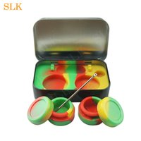 Four- in- one wax container holder 5- 10ml silicone container j...