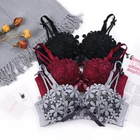 sexy mousse push up young girls lingerie bra and panties set...