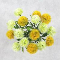 fiori artificiali singolo stelo del dente di leone lunghezza centri tavola circa 25cm di tarassaco Plastic Flower Wedding le decorazioni 5 colori LXL210-A