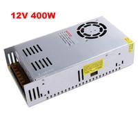 تحويل الصمام امدادات الطاقة 12 فولت 400 واط transformador 12 فولت ، dc12v الألومنيوم ac110v 220 فولت إلى 12 فولت الإضاءة المحولات ل led قطاع الخفيفة
