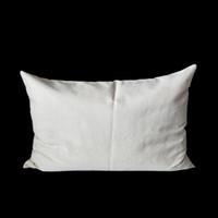 1 adet 11x17in boş doğal pamuk dimi kereste yastık kapak Şablonlar için mükemmel / Boyama / Nakış / HTV baskı doğal pamuk yastık kılı ...