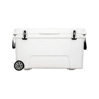 Large size 120L white color cooler box for fishing camping h...