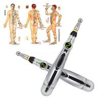الوخز بالإبر الإلكتروني الجديد القلم القلم العلاج الآمن ميريديان الطاقة شفاء تدليك الجسم رئيس الرقبة الساق Massageadores الصحة