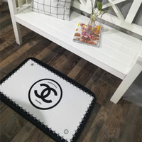 Fashion Print Letter Home Mat INS Style Bathroom Non- slip Ma...