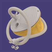 La più nuova pompa ad aria del piede ad alta pressione per le pompe gonfiabili del battello pneumatico del battello delle barche gonfiabili delle pompe