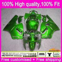 Injection Pour KAWASAKI ZX12R ZX1200 CC ZX 12R 12 R 1200 71HM.57 1200cc ZX12R 02 03 04 05 06 2002 2003 2004 2005 2006 Green Good OEM Carénage