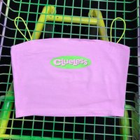 SURGE Summer Women Clueless Crop Top Strap Top Hot Pink 2020...