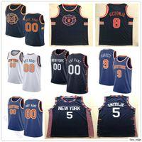 Напечатанный пользовательский баскетбол 9 R.J. Barrett IGNAS Brazdeikis Dennis 5 Smith JR Kevin 20 Knox II Allonzo 14 Trier Julius 30 Jerseys