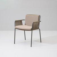 Italienisches Design Möbel im Freien Massivholz Stuhl und Tisch
