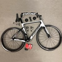 THRUST الكربون دراجة دراجة الطريق إطارات هوائية سباق دراجات ألياف الكربون T1000 Bicicleta 50MM 700C العجلات 25C صور