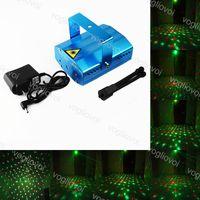 Laser Iluminação Voz Controlador 5W Sky Star 4in1 6in1 Liga de Alumínio Vermelho Verde Para O Natal Dia das Bruxas Brighyday Party Fase DHL