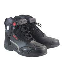 Botas de Moto de Couro de Corrida de Moto Sapatos de Equitação Da Motocicleta Esporte Estrada Profissional botas de equitação da motocicleta