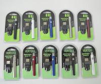 Vape Pen Batteria 510 Batterie discussione 350mAh 3.4V-4.0V Vertex Blister preriscaldamento batteria per CE3 g2 cartuccia dell'olio Serbatoi E sigaretta Batteria