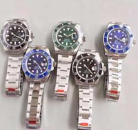 فاخر EW مصنع الطبعة 5 اللون الحركة Cal.3135 40MM أفضل نوعية الياقوت الفلورسنت 116610 السيراميك مدي MEN ساعة مع صندوق أصلي
