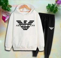 2020 AMN Children Sports Sets Kids Sets 2- 7T Kids Hoodies Pa...