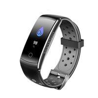 Q8S Smart-Armband Herzfrequenzmesser Blutdruck Blut-Sauerstoff-Verfolger-Uhr-Fitness Tracker wasserdichte Armbanduhr für iPhone und Android