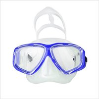 2019 New Diving Mask And Snorkels Anti- Fog Goggles Diving Ma...