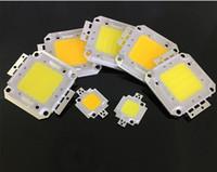10PCS / الكثير SMD 10W 20W 30W 50W 100W السلطة العليا المتكاملة رقاقة LED الخرز مصباح لمبة COB لDIY الكاشف أضواء مصدر الضوء