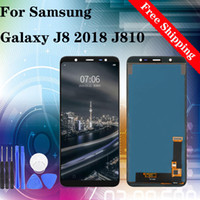 Original Brand New Für SAMSUNG GALAXY J8 2018 J810 J810M J810F / DS LCD Display Touchscreen Digitizer Montage Ersatz