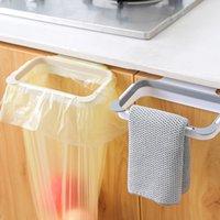 Armário Back Door Hanging Trash Rack de armazenamento de cozinha lixo Péssima saco pode Titular de suspensão do armário de cozinha lixo rack
