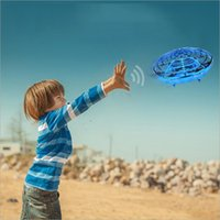 Flying Helicopter Mini drone UFO RC Drone Infraed Induction ...