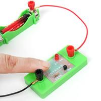interruttore della luce controllata bordo photoresistresistance tripolare elettronico esperimento circuito componente tecnologia interessante