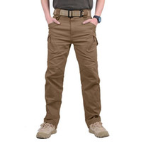 2018 Men City Tactical Pants Multi Pockets Cargo Pants Comba...