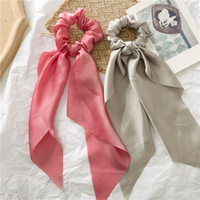 Long Ribbon Scrunchie Stretch Headbands Scrunchies Women Ela...
