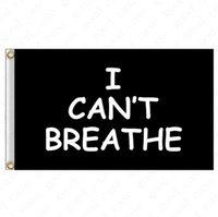 90 150cm I Bayrak 2020 Siyah Protesto ABD Afişler Mektupları Baskı Bahçe Bayraklar Amerikan Parade Bayraklar Ev Dekorasyon 2020 D6411 NEFES CAN NOT *