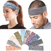 10 colors Absorbent Sport Sweat Headband Sweatband For Men W...